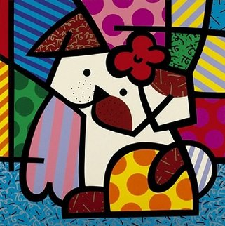 Valley Dog 1995 Limited Edition Print - Romero Britto