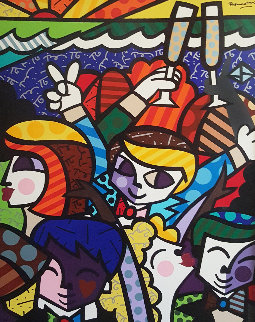 Celebration 1998 Limited Edition Print - Romero Britto