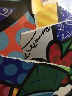 Britto MIX 2004 30x32 Works on Paper (not prints) by Romero Britto - 3