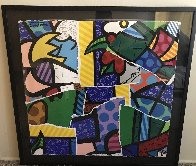 Britto MIX 2004 30x32 Works on Paper (not prints) by Romero Britto - 2