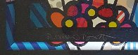 Bride And Groom (Black) 1994 Limited Edition Print by Romero Britto - 3