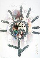 Sahagun 2 2010 51x35 Huge Original Painting by Romero Britto - 0