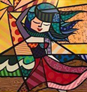 Untitled Serigraph  Limited Edition Print by Romero Britto