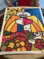 Absolut 1990 Limited Edition Print by Romero Britto - 1