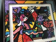 Follow Me 3-D 2006 Limited Edition Print by Romero Britto - 3