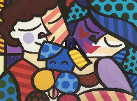 Three of Us 2005 Limited Edition Print by Romero Britto - 0