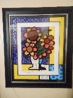 Sunflower   2015 3-D Limited Edition Print by Romero Britto - 2