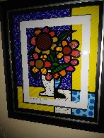 Sunflower   2015 3-D Limited Edition Print by Romero Britto - 4