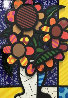 Sunflower   2015 3-D Limited Edition Print by Romero Britto - 1