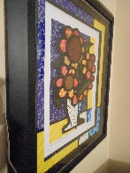 Sunflower   2015 3-D Limited Edition Print by Romero Britto - 3
