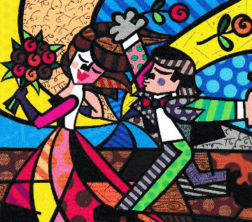 Follow Me 2006 Limited Edition Print by Romero Britto
