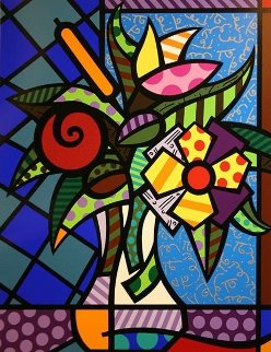 It's For You 2005 Limited Edition Print - Romero Britto