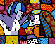 First Love 1996 Limited Edition Print by Romero Britto - 0