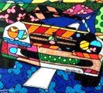 500 Drive 2002 48x60 Original Painting - Romero Britto