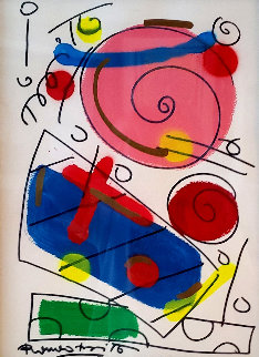 Gifts 2015 22x26 Original Painting by Romero Britto