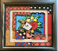 New Spring 3-D 2008 Limited Edition Print by Romero Britto - 2