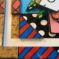 New Spring 3-D 2008 Limited Edition Print by Romero Britto - 5