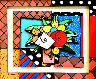 New Spring 3-D 2008 Limited Edition Print by Romero Britto - 0
