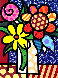 Van Britto 1998 Limited Edition Print by Romero Britto - 0
