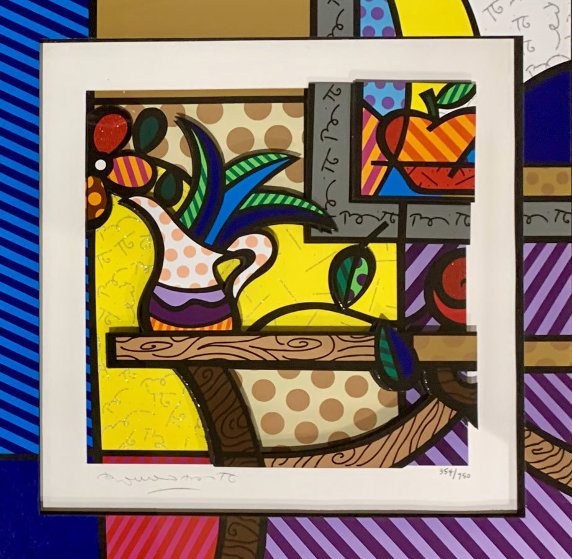 Living Room  3-D 2006 by Romero Britto