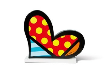 For You Iron Sculpture 2006 9 in Sculpture - Romero Britto