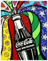Coca Cola I  2016 Limited Edition Print by Romero Britto - 1