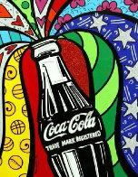 Coca Cola I  2016 Limited Edition Print by Romero Britto - 0