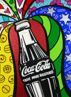 Coca Cola Series I - Rio Olympic Games Commemorative 2016 Limited Edition Print - Romero Britto