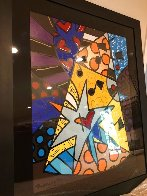 A Star is Born 2002 32x40 Huge Original Painting by Romero Britto - 3