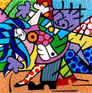 Dancers 1993 Limited Edition Print - Romero Britto
