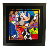 Tonight 2007 Huge 49x31 Limited Edition Print by Romero Britto - 1