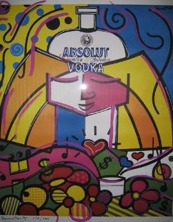Absolut Britto 1990 Limited Edition Print by Romero Britto
