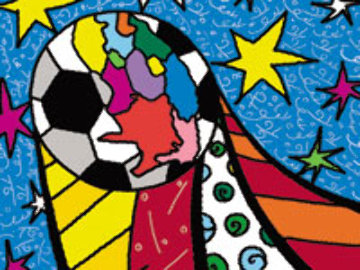 2010 World Cup South Africa Portfolio of 17 prints 2009 Limited Edition Print by Romero Britto