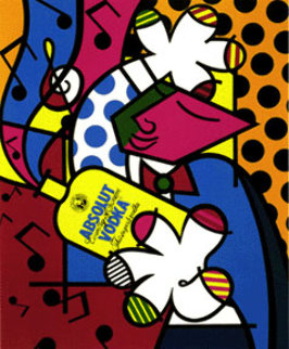 Absolut II 1992 Limited Edition Print by Romero Britto