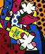Absolut II 1992 Limited Edition Print by Romero Britto - 0