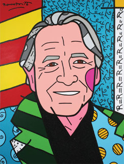 We Love Rauschenberg AP 2007 Limited Edition Print - Romero Britto