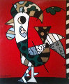 Portugal 2003 60x48  Original Painting - Romero Britto