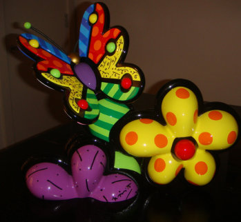 New Life Sculpture 2003 15x17 Sculpture - Romero Britto