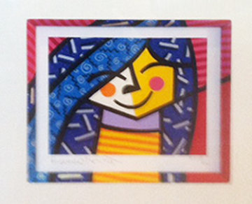 Untitled I Limited Edition Print - Romero Britto