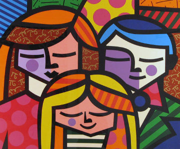 La Familia (The Family) 2007 Limited Edition Print by Romero Britto