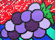 Untitled (Grapes) 2004 14x12 Original Painting by Romero Britto - 0