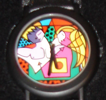 After Making Love Watch 1993 Jewelry by Romero Britto