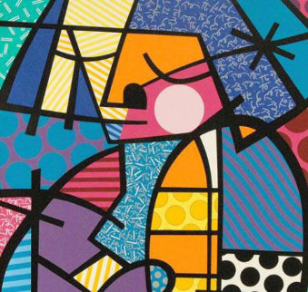 Jennifer Limited Edition Print - Romero Britto