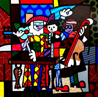 Spanish Sensation AP 2003 Limited Edition Print - Romero Britto