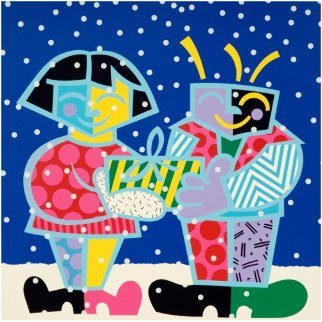Best Buddies 1994 Limited Edition Print - Romero Britto