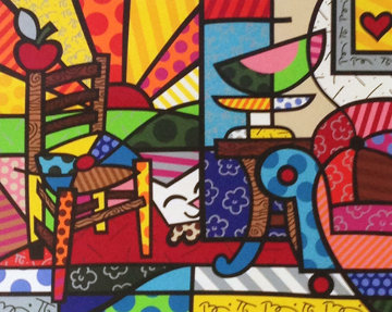 Squeak Van Britto Limited Edition Print - Romero Britto