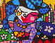 Uptown 2005 Limited Edition Print by Romero Britto - 0
