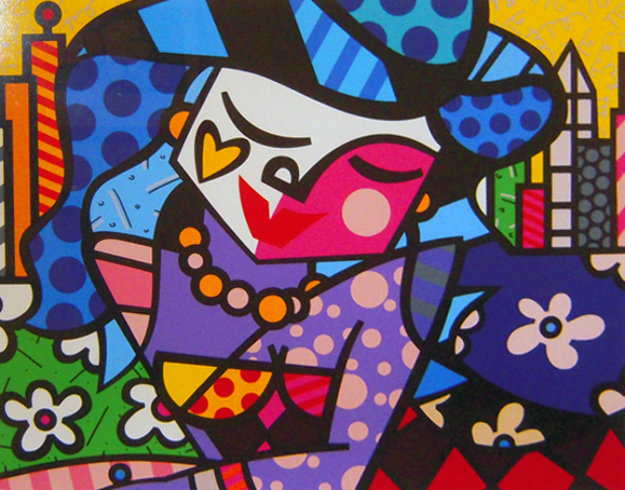 Uptown 2003 Limited Edition Print by Romero Britto