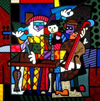 Spanish Sensation 2003 Limited Edition Print - Romero Britto