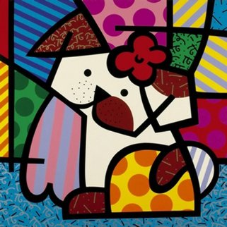 Valley Dog 2001 Limited Edition Print - Romero Britto